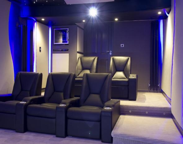 Garage Cinema Room Et Home Cinema