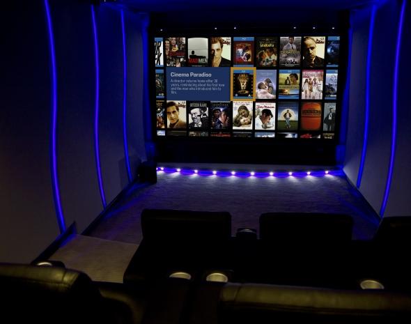 Garage Cinema Room