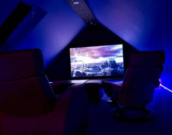 Attic Cinema Room Et Home Cinema