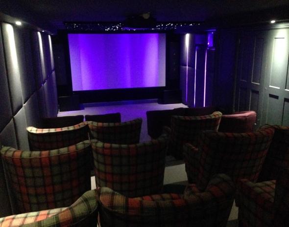 The Hoste Hotel 20 Seat Cinema - ET Home Cinema